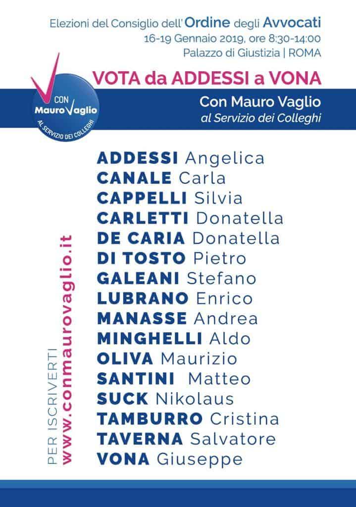 ordine degli avvocati di roma: si vota! - studio legale salata | roma